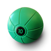 Live Medicine Ball 10 Kg - Green