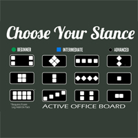 Fitter Active Office Board