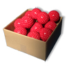 Bulk 20 - Trigger Ball 10cm - Red