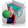 Bulk - Massage Ball - Green - 20pk