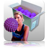 Bulk - Massage Ball - Purple - 20pk