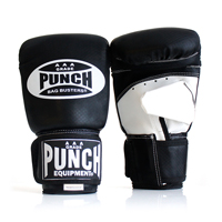 ZZ Punch Bag Buster Mitts - B&W - Large
